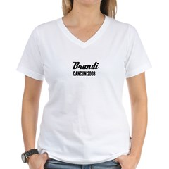 Cancun Women's V-Neck T-Shirt