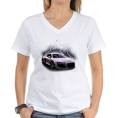 Joels car Women's V-Neck T-Shirt