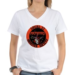 Nocturnals Women's V-Neck T-Shirt