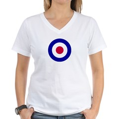 RAF-Royal Air Force Women's V-Neck T-Shirt