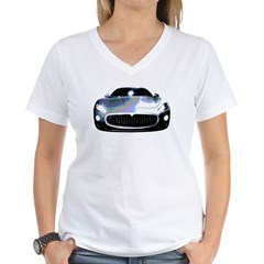 Maserati Women's V-Neck T-Shirt