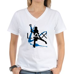Lacrosse Women's V-Neck T-Shirt