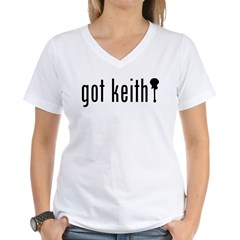 gotkeith Women's V-Neck T-Shirt