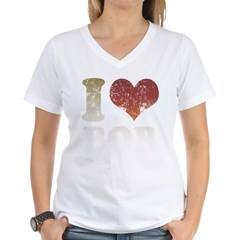 I Love Bob Women's V-Neck T-Shirt