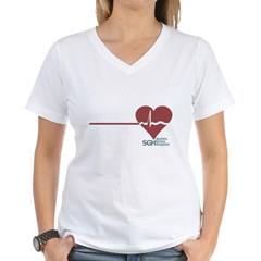 I Heart Grey's Anatomy Women's V-Neck T-Shirt