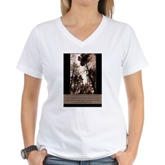 Keep Believing Women's V-Neck T-Shirt