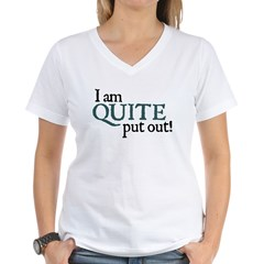 Put Ou Women's V-Neck T-Shirt