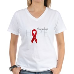 There is Always Hope P.E. Women's V-Neck T-Shirt