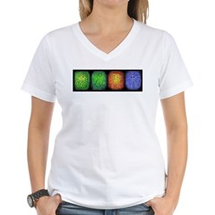 Seasons (Winter) Women's V-Neck T-Shirt