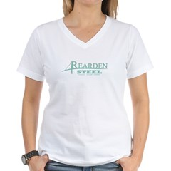 Rearden Steel Women's V-Neck T-Shirt