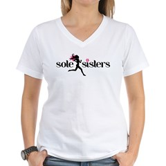 SS basic logo.png Women's V-Neck T-Shirt