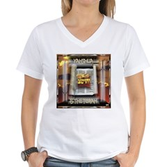 Yahshua is The Torah Women's V-Neck T-Shirt