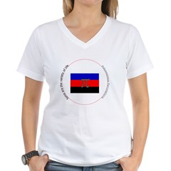 """Variety of Spice"" Women's V-Neck T-Shirt"
