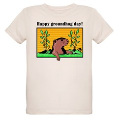 Happy groundhog day! Infant Creeper Organic Kids T-Shirt