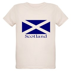 """Scotland"" Organic Kids T-Shirt"