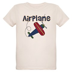Airplane Organic Kids T-Shirt