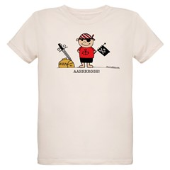 Pirate Boy 1 Organic Kids T-Shirt