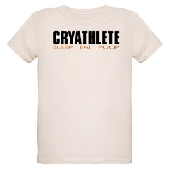 """Cryathlete"" Infant Creeper Organic Kids T-Shirt"