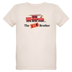 Big Brother - Trains Organic Kids T-Shirt