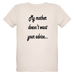 """Your Advice"" Infant Creeper Organic Kids T-Shirt"