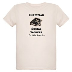 Christian Social Worker Infant Creeper Organic Kids T-Shirt