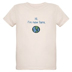 I'm new here. Organic Kids T-Shirt