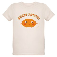 """Sweet Potato"" Organic Kids T-Shirt"