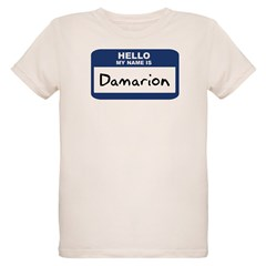 Hello: Damarion Organic Kids T-Shirt