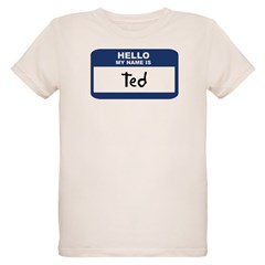 Hello: Ted Organic Kids T-Shirt