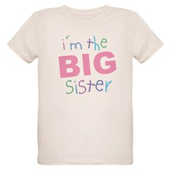 I'm the Big Sister Kids Organic Kids T-Shirt