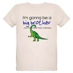 Gonna be big brother (dinosaur) Kids Organic Kids T-Shirt