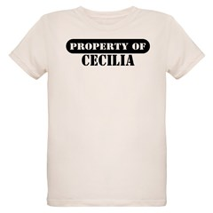 Property of Cecilia Organic Kids T-Shirt