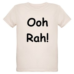 Ooh Rah Black Organic Kids T-Shirt
