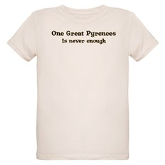 One Great Pyrenees Organic Kids T-Shirt