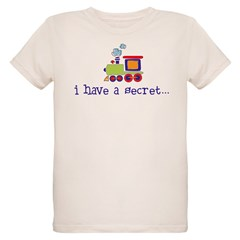 big brother secret train front/back Kids Organic Kids T-Shirt
