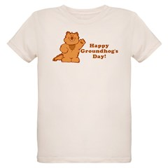 Groundhog's Day! Organic Kids T-Shirt