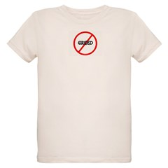 NO GREED Organic Kids T-Shirt
