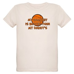 Bracket Daddy Organic Kids T-Shirt