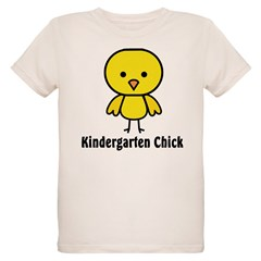 Kindergarten Chick Organic Kids T-Shirt