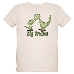 Dinosaurs Big Brother Organic Kids T-Shirt