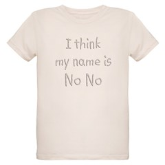 Name Is NoNo Organic Kids T-Shirt