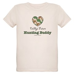 Daddy's Future Hunting Buddy Organic Kids T-Shirt