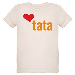 volim tata (I love dad) Organic Kids T-Shirt