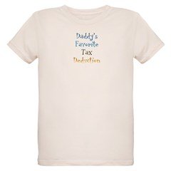 Daddy's Favorite Organic Kids T-Shirt