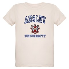 ANSLEY University Organic Kids T-Shirt