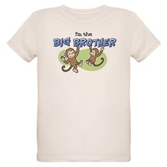 Big Brother (Monkey) Organic Kids T-Shirt