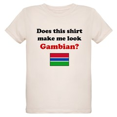 Make Me Look Gambian Organic Kids T-Shirt