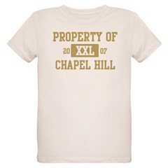 Property of Chapel Hill Organic Kids T-Shirt