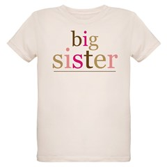 Big Sis (fun) Organic Kids T-Shirt