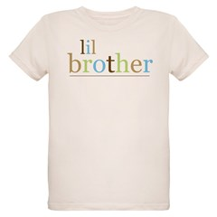 Lil Bro (fun) Organic Kids T-Shirt